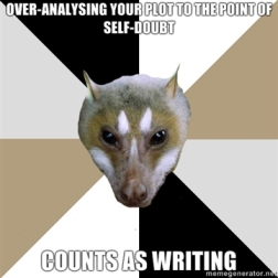 Love the Aspiring Author Bat Meme