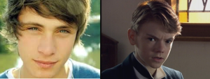 Left is Inspiration from the Googles and Right is Thomas Brodie-Sangster (specifically in his role for Doctor Who)